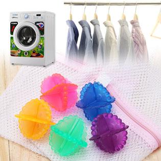 Combo 2 Lưới Giặt Và 4 Banh Giặt Tiện Lợi