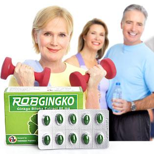 Combo 2 Hộp Robgingko Giảm Stress Hiệu Quả