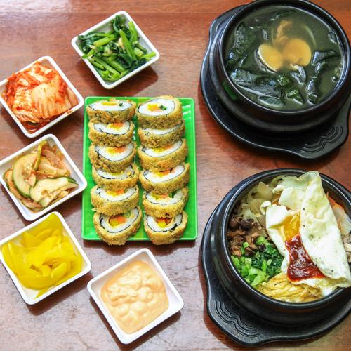 Set Ăn Hàn Quốc 2 Người Tại Nhà Hàng GimBap