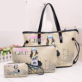 Bộ 3 Túi Xách Fashion Girl