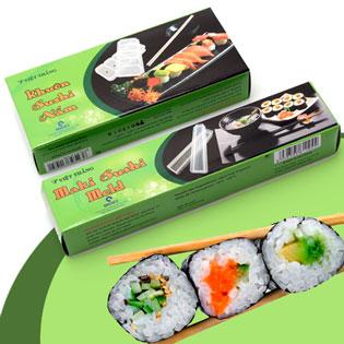 Combo 02 Khuôn Sushi Dạng Cuộn Và Dạng Nắm