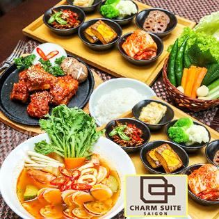 Set 2 Món Korean Food Tầng 12 Thoáng Mát, Tuyệt Đẹp Sài Gòn Terrace Restaurant
