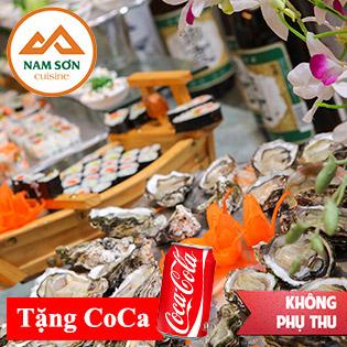 Buffet Nam Sơn - Uống Thỏa Thích - Ăn Thả Ga