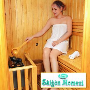Steambath + Sauna + Tẩy Tế Bào Chết + Đắp Bột Yến Mạch - Sài Gòn Moment Spa