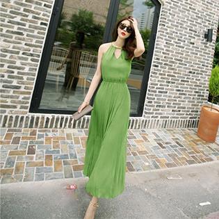 Đầm Yếm Maxi Thời Trang
