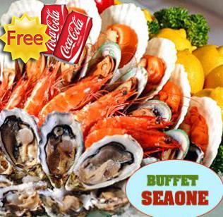 Buffet Hải Sản Cao Cấp Tại Nhà Hàng Sea One (Royal City) - Miễn Phí Coca Tươi