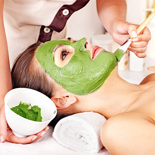 Massage Body Đá Nóng + Foot + Mask Rong Nho/ Thuốc Bắc - HT Hương Tre Spa