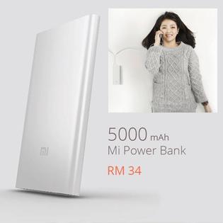 Pin Sạc Dự Phòng Xiaomi 5000mAh Chính Hãng 100%