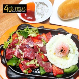 Combo 2 Phần Bò Trùm Mền Cho 2 Người Tại 4G's Texas Restaurant