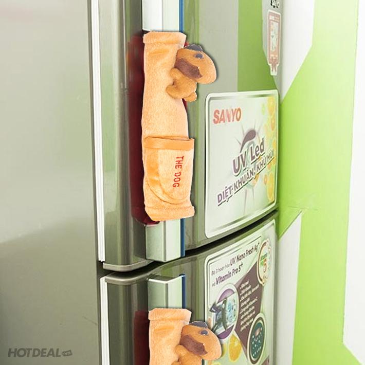 Bộ 2 Tay Nắm Tủ Lạnh Có Túi Đựng