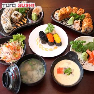 01 Trong 8 Set Menu Món Nhật Dành Cho 2 Người Tại Toro Sushi