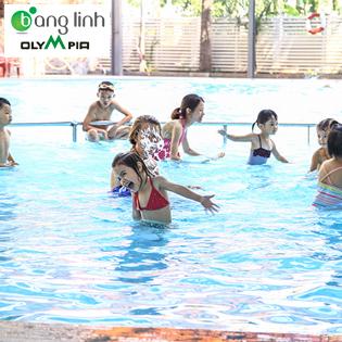 Vé Bơi 5 Lượt Tại 98 Tô Ngọc Vân Bể Bơi Olympia