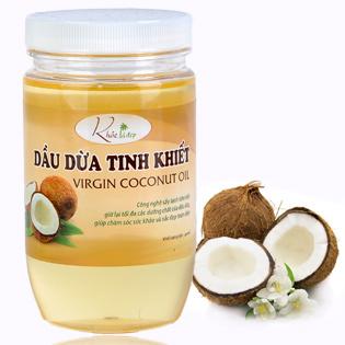 Dầu Dừa Tinh Khiết Khỏe Là Đẹp 400ml