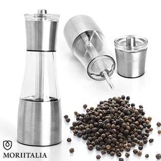 Dụng Cụ Xay Tiêu 2 Trong 1 Moriitalia 58x202mm - TL-BE16