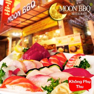 Buffet Lẩu Và Sushi Nhà Hàng Moon BBQ