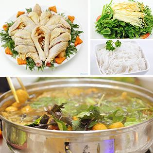 Lẩu Gà Nòi Lá Giang - Ngon Nức Tiếng Sài Gòn Tại 324 BBQ