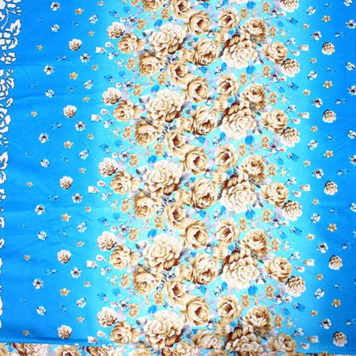 Bộ Chăn Ga Gối Cotton Nhung 1,8m x 2m - Hoa Tầm Xuân