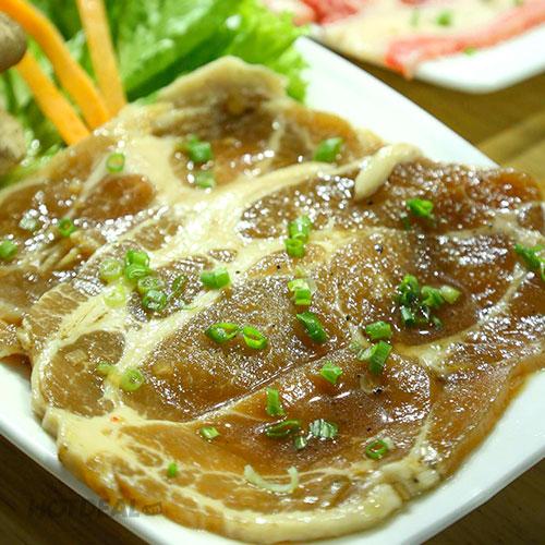 Set Lẩu Nướng Hàn Quốc, Miễn Phí 09 Món Ăn Kèm Không Giới Hạn + Trà Quế Cho 02 Người