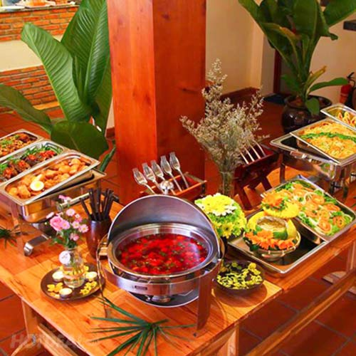 Homemade Buffet Trưa Tại AN.Village – Tặng 1 Phần Nước Uống