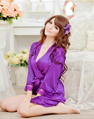 Váy Ngủ Kimmono Sexy Gợi Cảm
