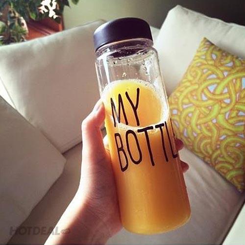 """Bình Nước + Túi Vải """"My Bottle"""" Cá Tính"""