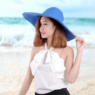Mũ Đi Biển Vành Rộng Thời Trang