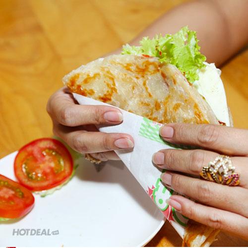 Bánh Cuốn Kim Kiều - Combo Bánh Tay Cầm Triều Châu + Sữa Đậu Nành