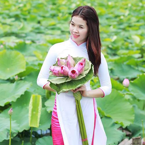 Gói Chụp Ảnh Thời Trang Sen Hồ Tây – Pháp Nguyễn Studio.