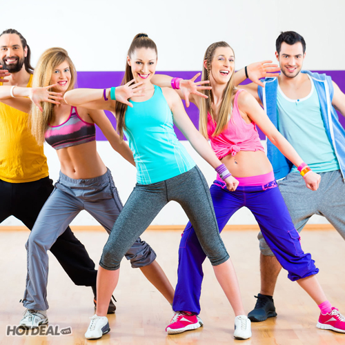 Khóa Học Zumba Fitness Tại CLB Sun Yoga & Zumba