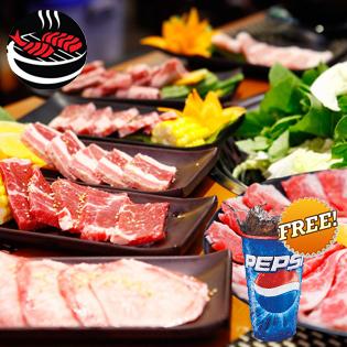 Buffet Nướng Và Lẩu Nhật Bản Nhà Hàng Yaki BBQ Time City - Free Pepsi
