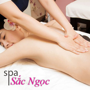 Massage Body + Ngâm Chân Thuốc Bắc + Đắp Mặt Nạ Đất Sét Sắc Ngọc Spa