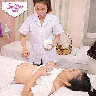 Massage Giảm Mỡ Bụng Cấp Tốc Với Tảo Biển Tại CLB Sức Khỏe Top Beauty