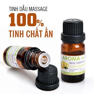 Combo 2 Chai Tinh Dầu Massage Chính Hãng Aroma-Zone (Pháp)