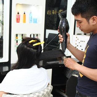 Nhuộm Phủ Bóng Công Nghệ Nano + Chăm Sóc Da Mặt Tại Hair Salon Sơn