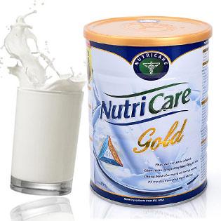 Sữa Nutricare Gold Cho Sức Khỏe Dẻo Dai, Tinh Thần Sảng Khoái