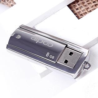 USB Aipoo 8GB Metal 63 – Bảo Hành 36 Tháng