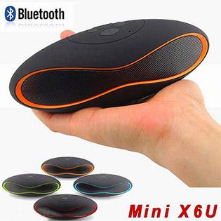 Loa Bluetooth Mini X6U Thiết Kế Độc Đáo, Âm Thanh Chuẩn