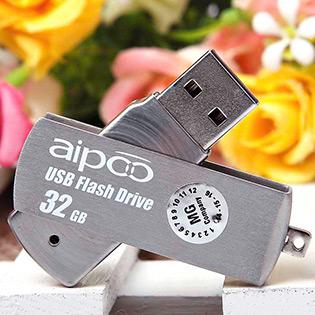 USB Aipoo 32GB Metal 57 – Bảo Hành 36 Tháng