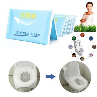 Combo 40 Miếng Giấy Lót Bồn Toilet