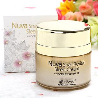 Kem Tái Tạo Da Và Trị Nám Ban Đêm Nuva Snail Revital Cream 30ml