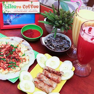 Set Ăn Và Uống Cho 2 Người Tại Likers Coffee