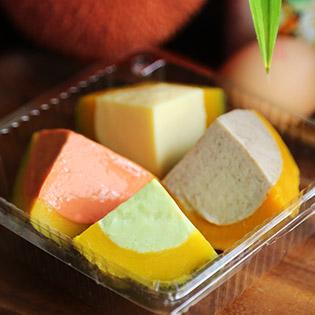 Combo 02 Hộp Bánh Flan Bí Đỏ - Nhà Hàng Cò Natural Deli