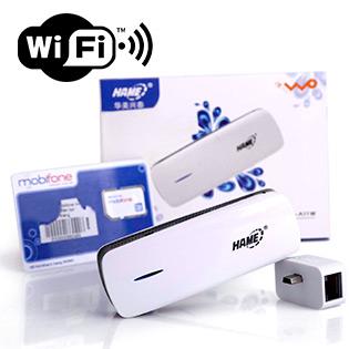 Thiết Bị Phát Wifi Từ Sim 3H Hame A11 Kèm Quà Tặng 1 Sim 3G – BH 12 Tháng