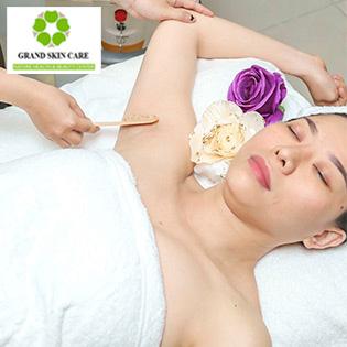 Gói Triệt Lông Nách Vĩnh Viễn (10 Lần) Bảo Hành 5 Năm Tại Grand Skin Care