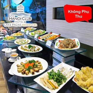 Buffet Bên Hồ Tây Tối Thứ 7 Hàng Tuần - KS 4 Sao The Hanoi Club