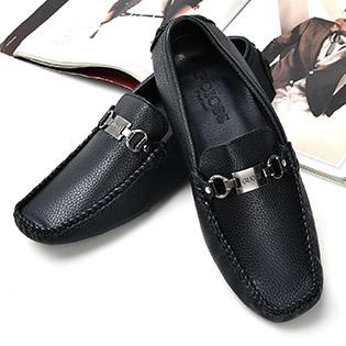 Giày Mọi Thời Trang Nam Công Sở Màu Đen