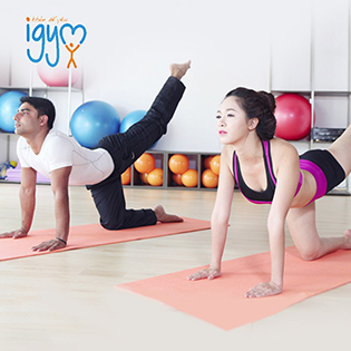 Thẻ Tập Gym + Yoga 1 Tháng Tại Igym Fitness & Yoga