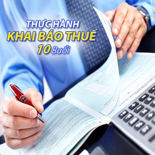 Khóa Học Thực Hành Khai Báo Thuế (10 Buổi) - Trung Tâm Đào Tạo Việt Kế Toán