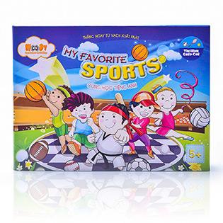 Bộ Đồ Chơi Ghép Hình Trí Tuệ My Favourite Sport
