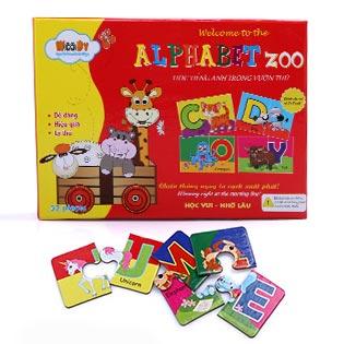 Trò Chơi Học Tiếng Anh Cho Bé Bằng Hình Ảnh Và Chữ Cái Alphabet Zoo